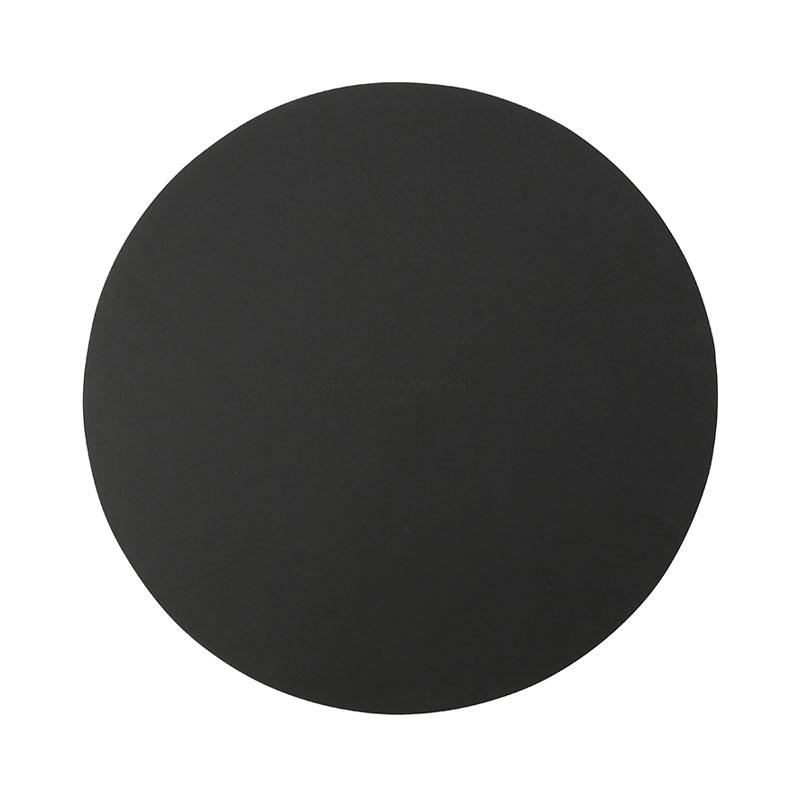 RUCA ROUND PLACEMAT 36CM BLACK
