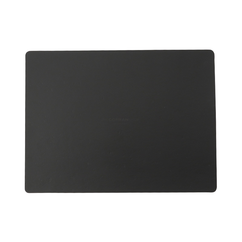 RUCA RECTANGLE PLACEMAT 30X40 BLACK