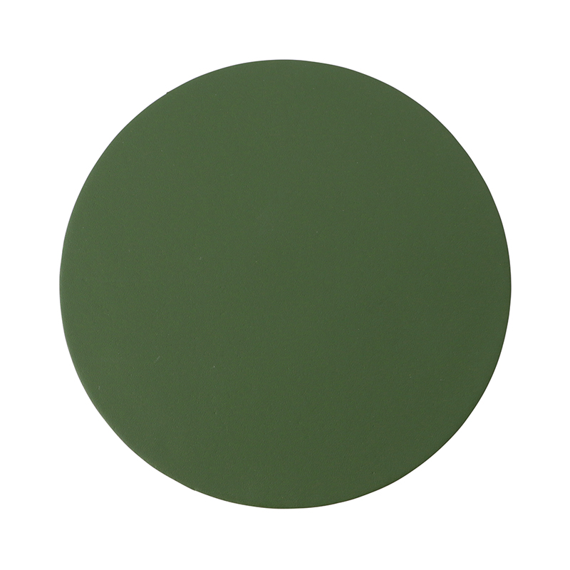 RUCA ROUND SINGLE COASTER FOREST GREEN