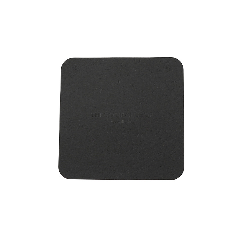 RUCA SQUARE SINGLE COASTER BLACK