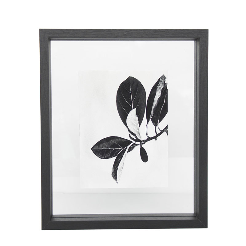 UNC PHOTOFRAME FLOATING MEDIUM BLACK