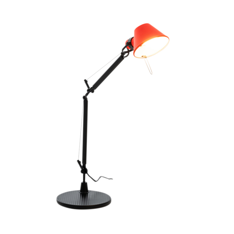 TOLOMEO MICRO BI-COLOR BLACK/CORAL
