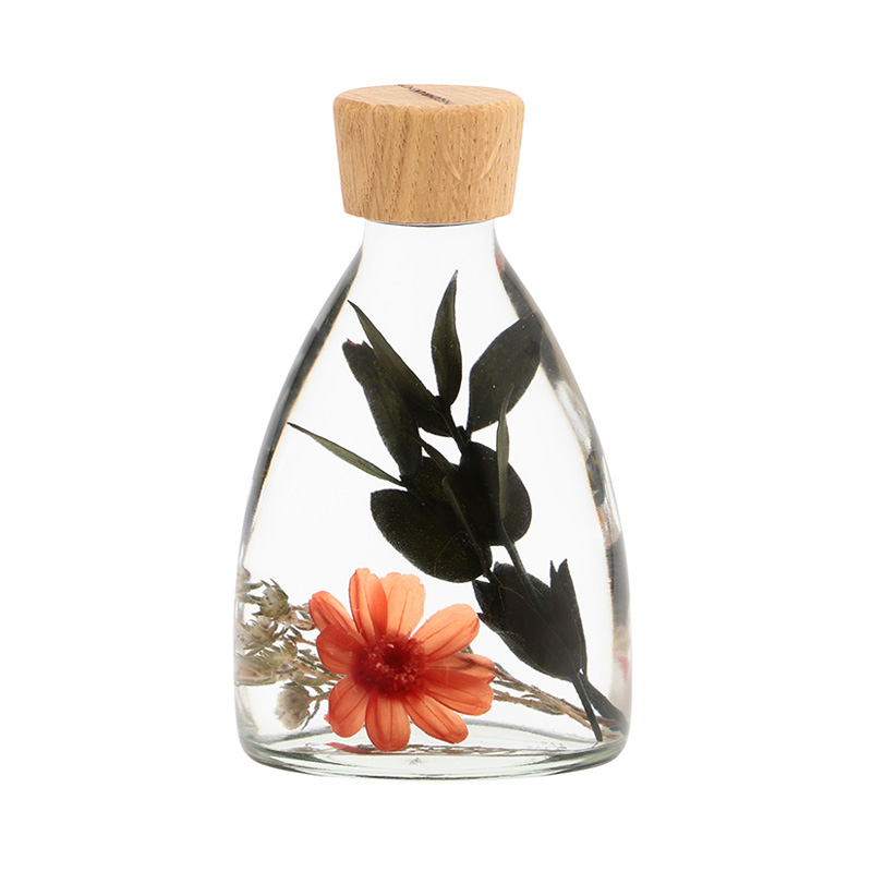 HERBIER ORANGE ZINNIA TRIANGLE BOTTLE