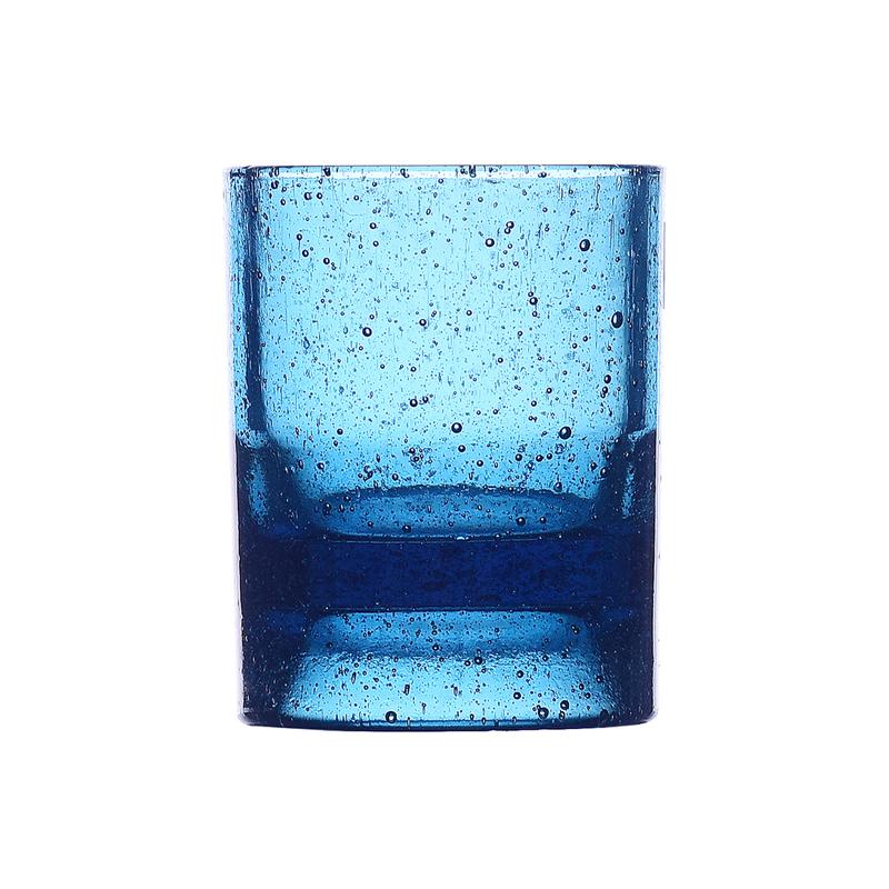 ICHENDORF TEA WITH ME TEALIGHT HOLDER DEEP BLUE