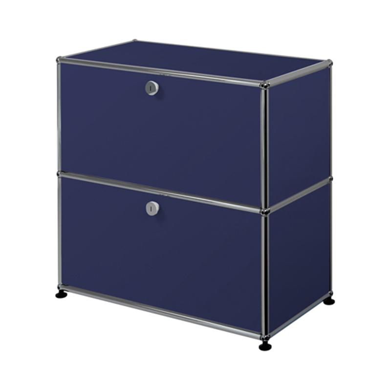 JPQS010 S/B STEEL BLUE  W773/D373/H740