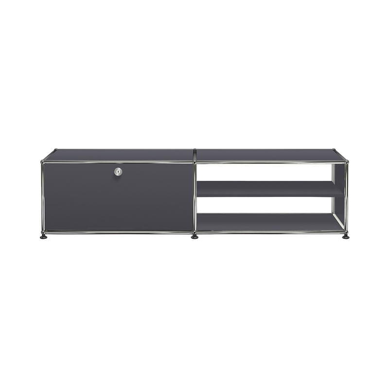 JPQS008 TV/B ANTHRACITE W1523/D373/H390