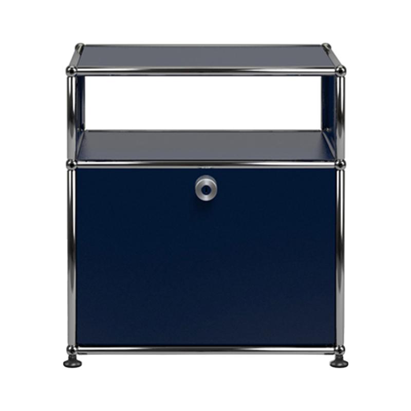 JPQS019 LOW.B STEEL BLUE W523/D373/H565