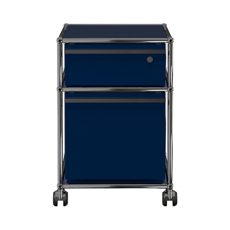JPQS013 WAGON STEEL BLUE W418/D523/H605