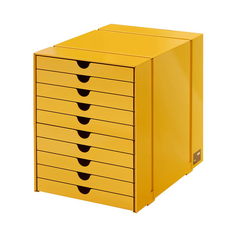 USM INOS BOXSET C4 10DRAWERS GOLDEN YELLOW