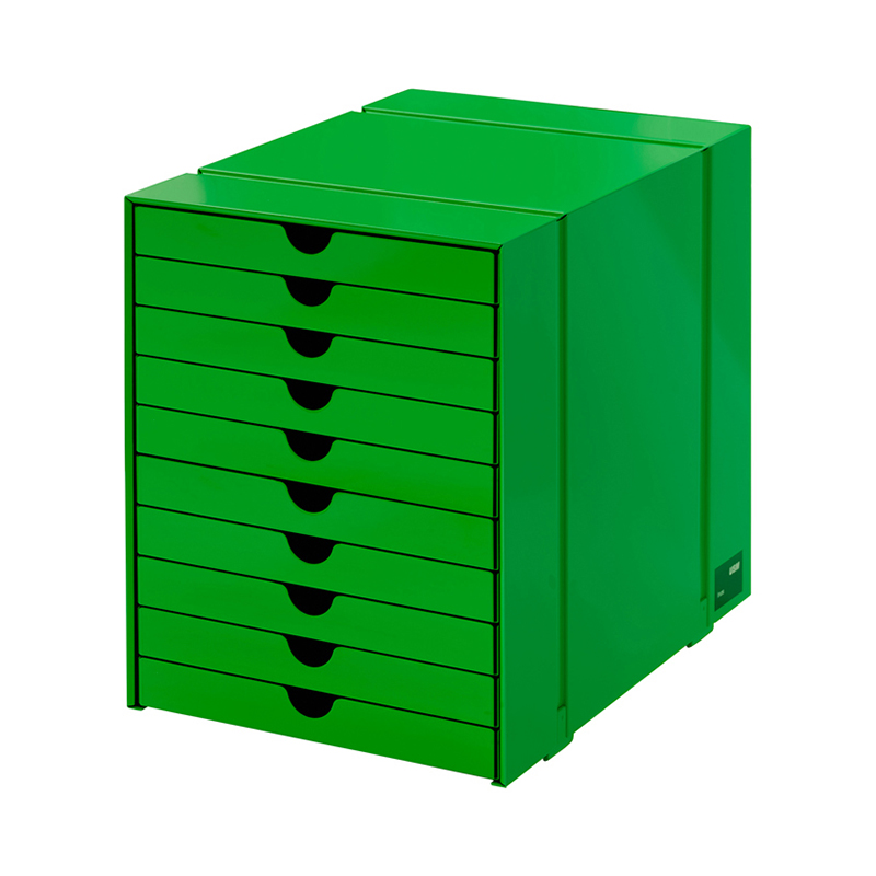 USM INOS BOXSET C4 10DRAWERS USM GREEN