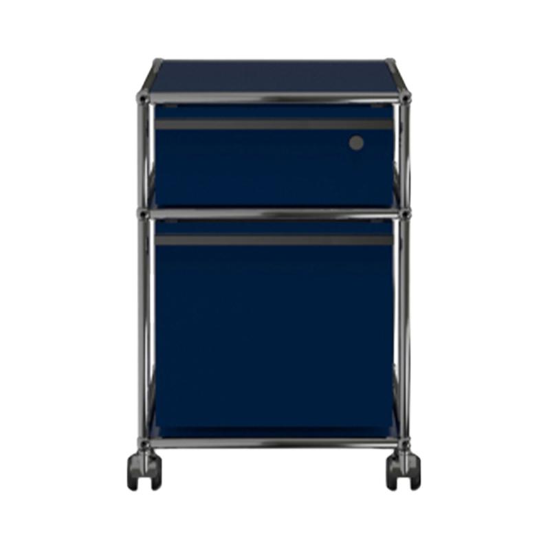 JPQS062 WAGON STEEL BLUE W418/D523/H605
