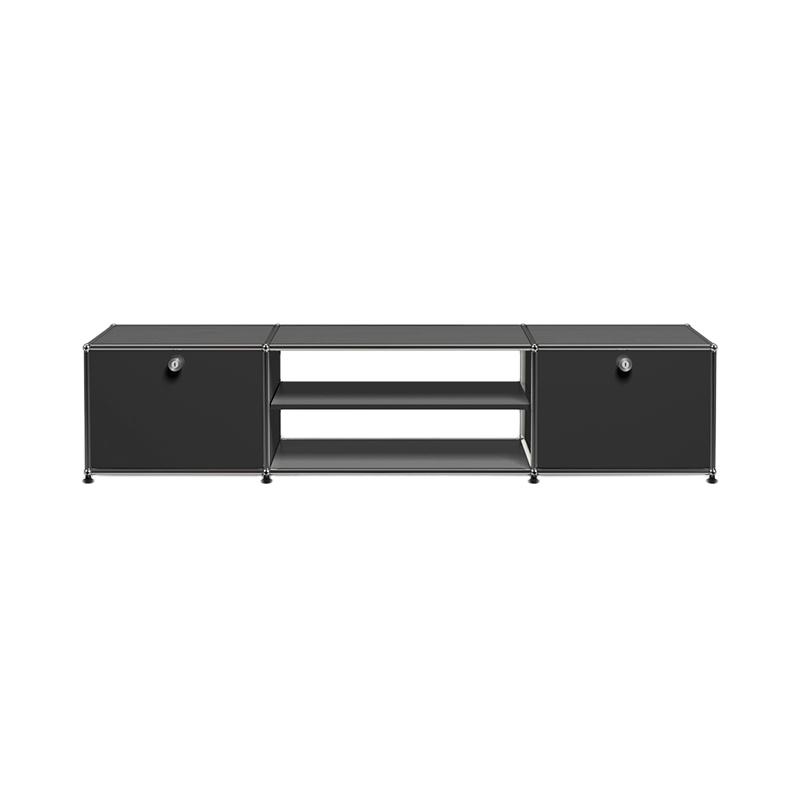 JPQS031 TV BOARD GRAPHITE BLACK W1773/D373/H390