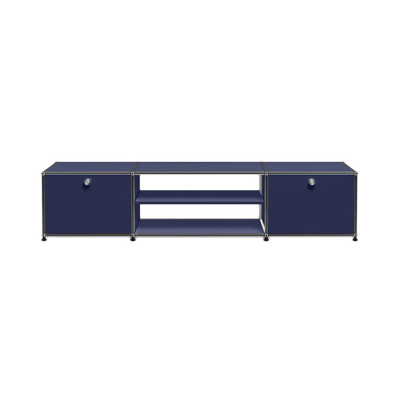 JPQS031 TV BOARD STEEL BLUE W1773/D373/H390