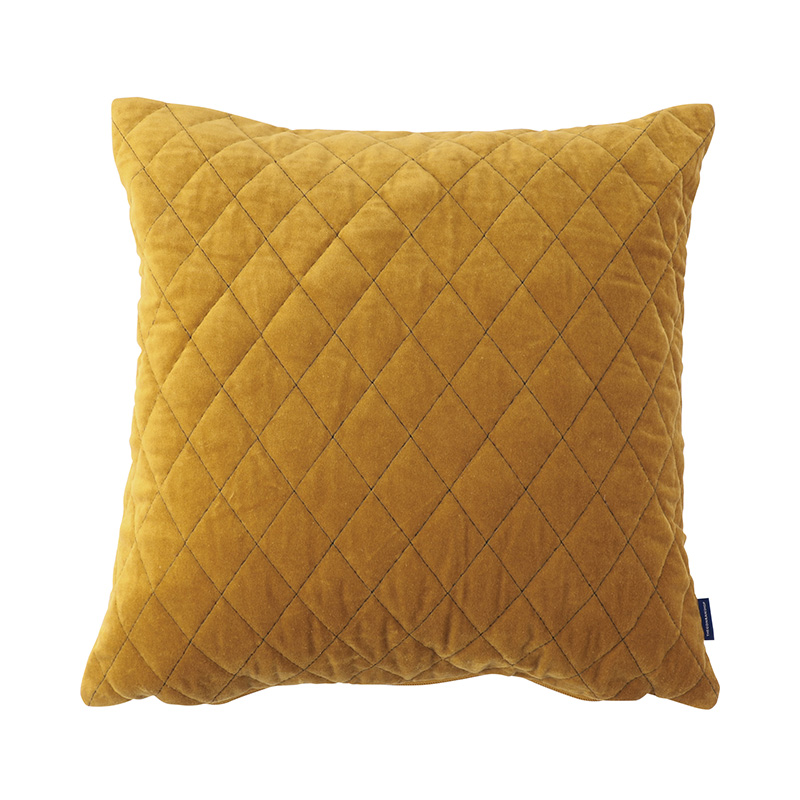 ORIGINAL VIJAY CUSHION COVER LATTICE / OCHER