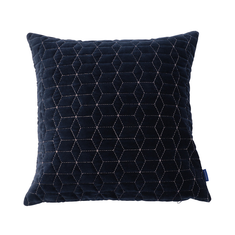 ORIGINAL VIJAY CUSHION COVER GEOMETRIC / NAVY