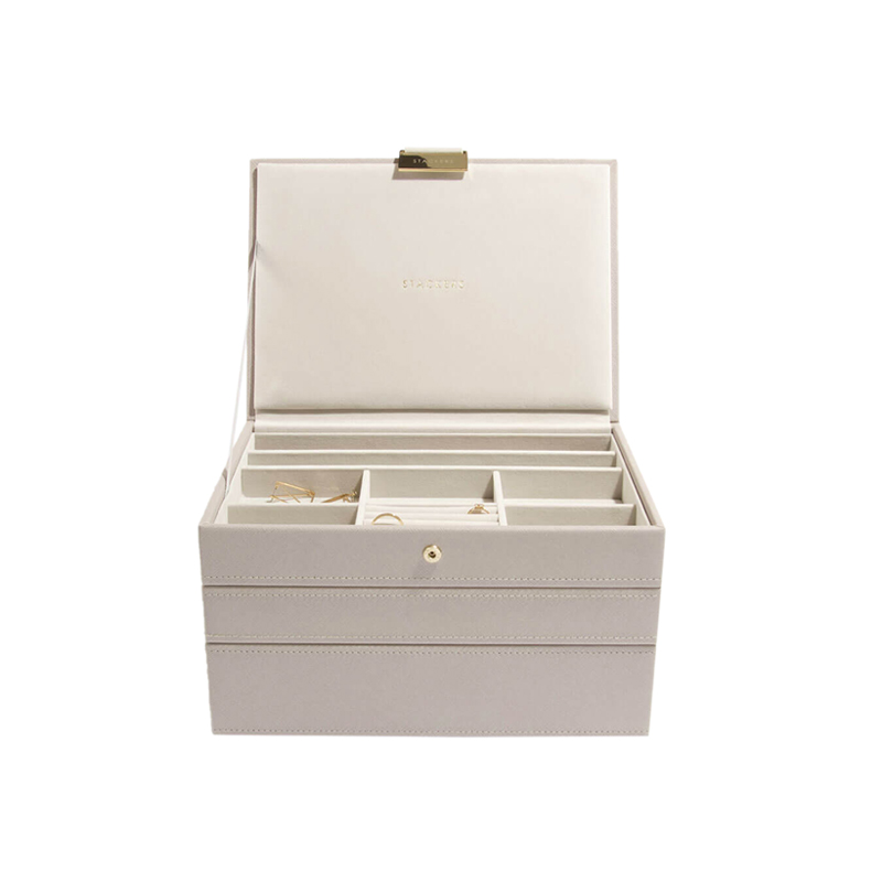 STACKERS CLASSIC JEWELRY BOX TAUPE 3SET