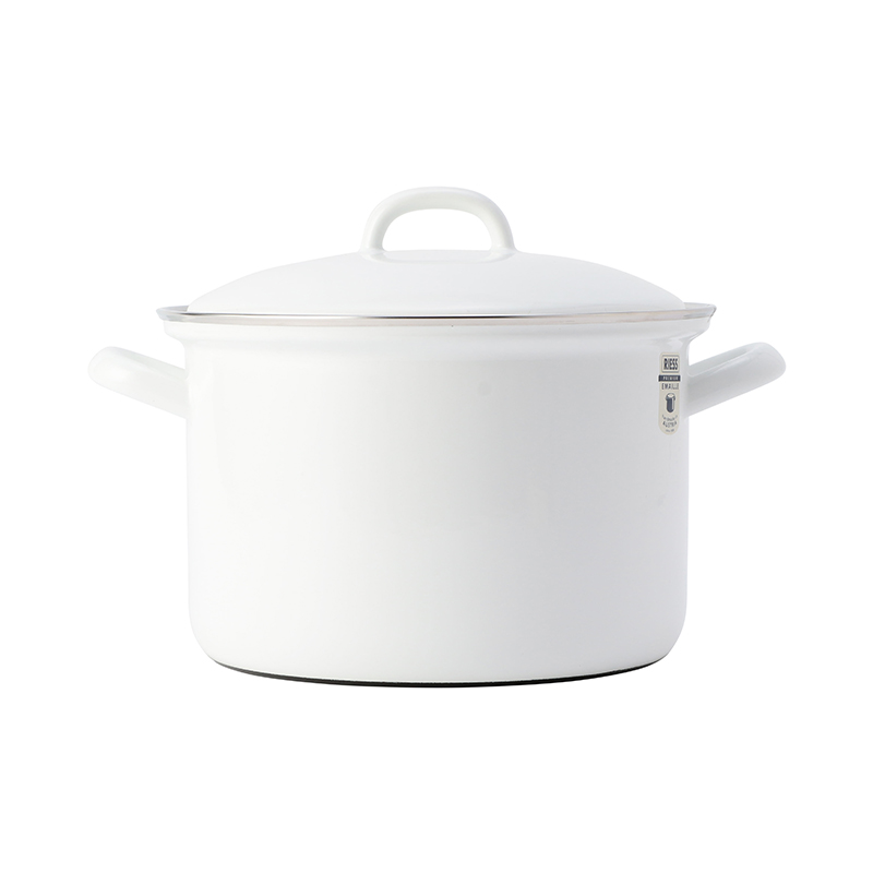 RIESS/SAUCE POT WITH LID 20CM 3.5L WHITE
