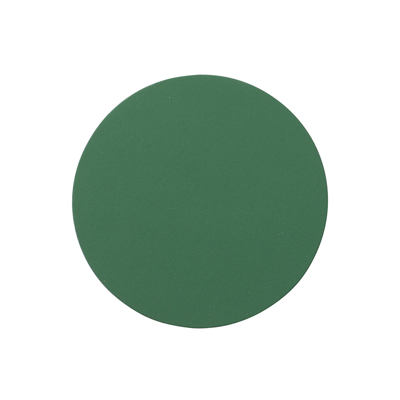 RUCA ROUND SINGLE COASTER FERN GREEN