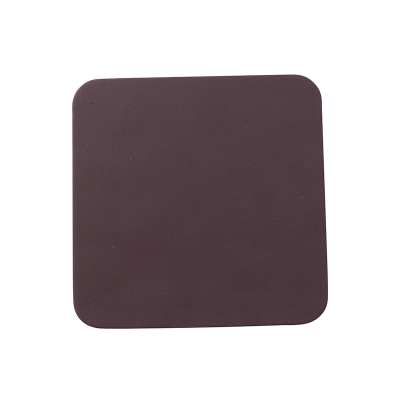RUCA SQUARE SINGLE COASTER PLUM