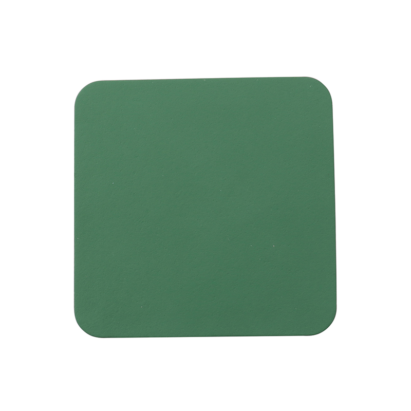 RUCA SQUARE SINGLE COASTER FERN GREEN