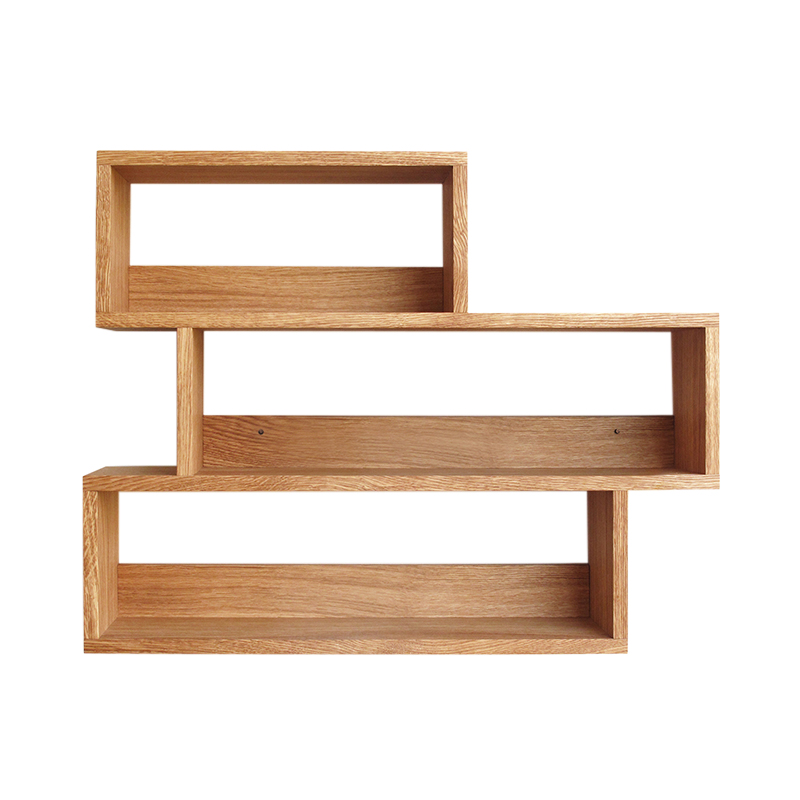 SIDE BY SIDE TEA RACK OILED OAK