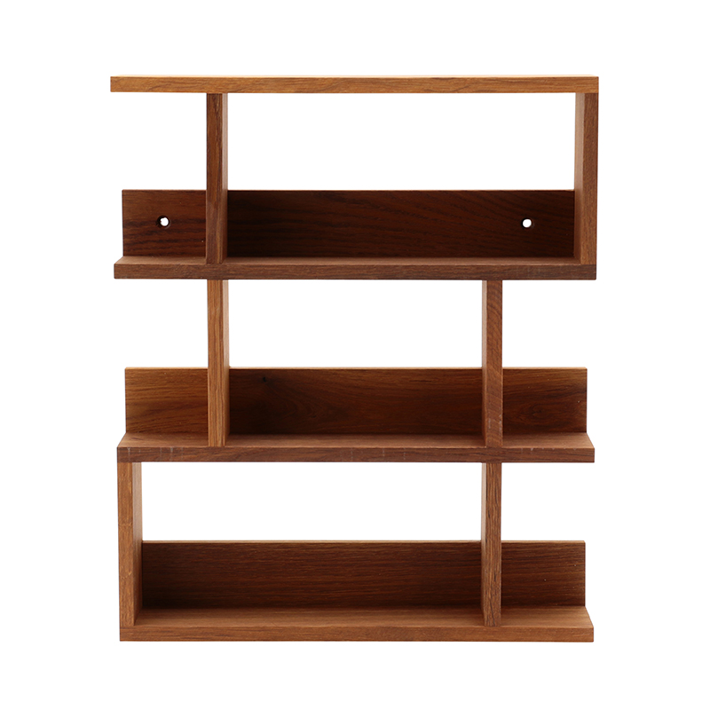 SIDE BY SIDE SPICE RACK GOURMET OILED SMOKED OAK
