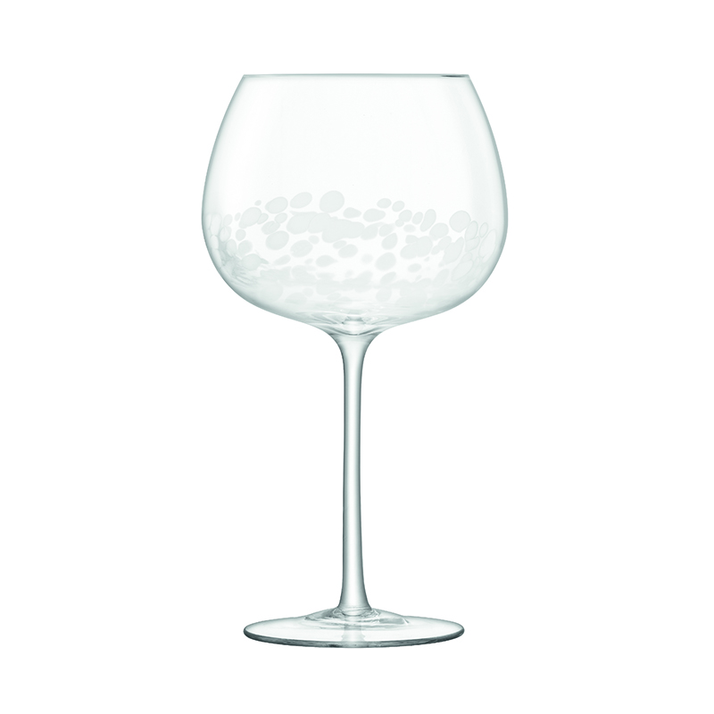 STIPPLE BALLOON GLASS