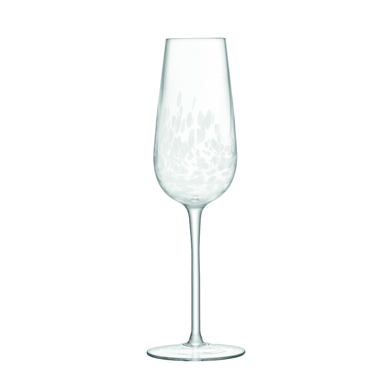 STIPPLE CHAMPAGNE FLUTE