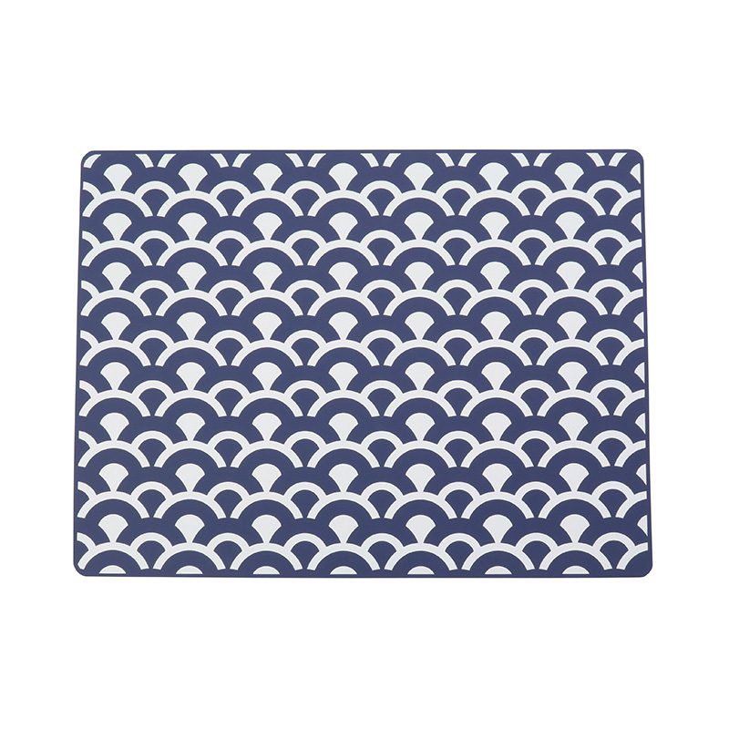 RECTANGLE PLACEMAT 30X40 CIRCLE WAVES