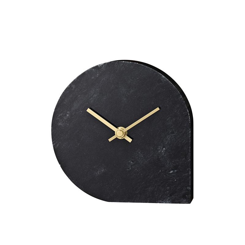 STILLA CLOCK BLACK