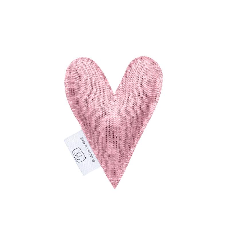 LAVENDER HEART SACHET PALE PINK