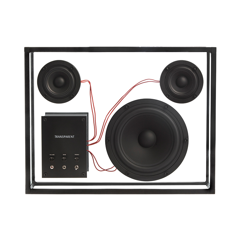 TRANSPARENT SPEAKER BLACK