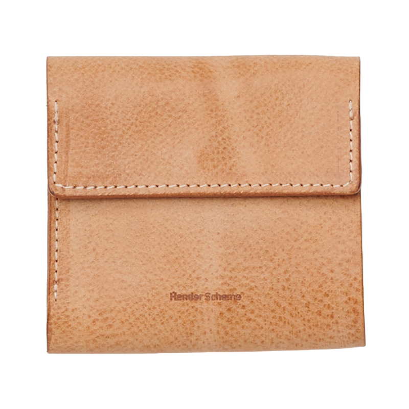 CLASP WALLET NATURAL
