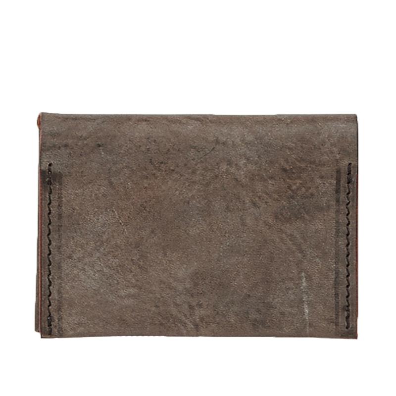 COMPACT CARD CASE CHOCO