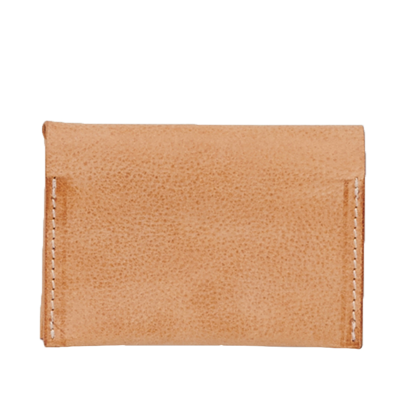 COMPACT CARD CASE NATURAL