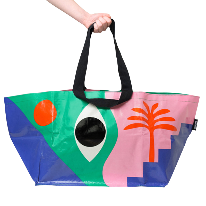 HERD TOTE BAG THE EYE LARGE