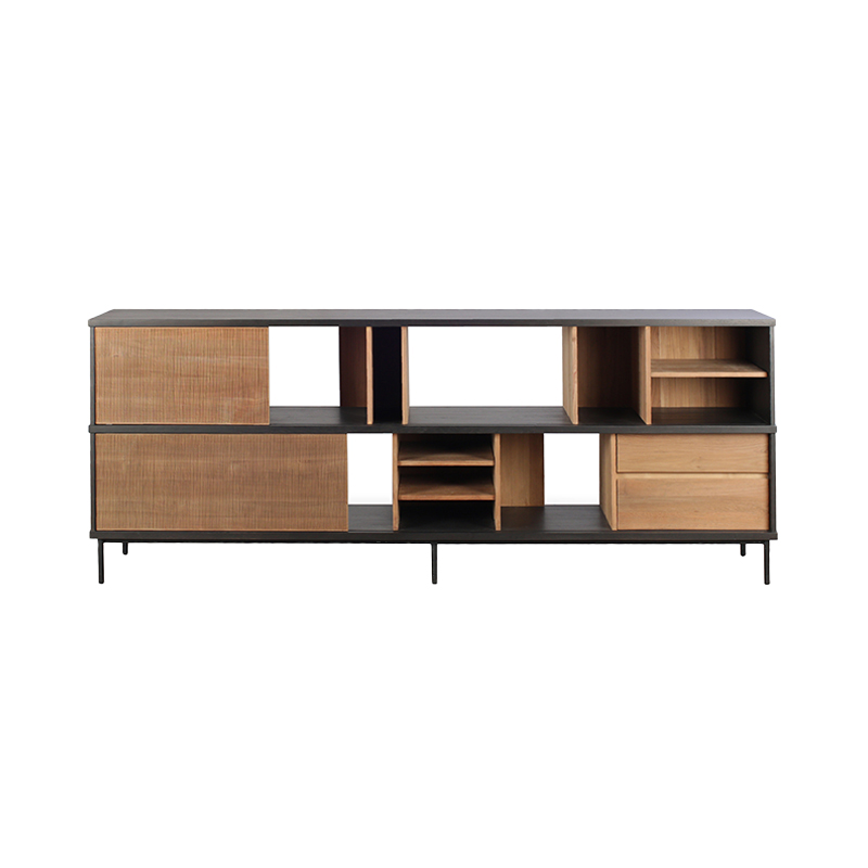 ETHNICRAFT TEAK OSCAR SIDEBOARD 2SLIDE DOORS/3DRAW