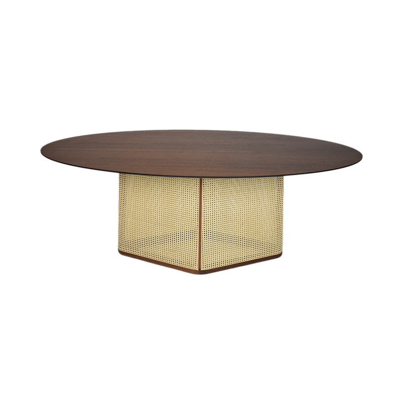COLONY DT WALNUT NATU VIENNA 200X120X75