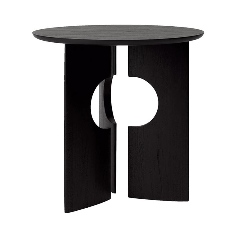 TEAK COVE BLACK SIDE TABLE