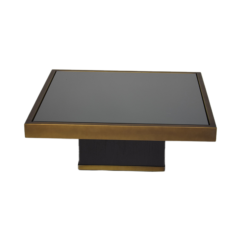 TRIFECTA CHARCOAL COFFEE TABLE H23 S