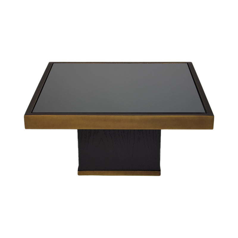 TRIFECTA CHARCOAL COFFEE TABLE H30 M