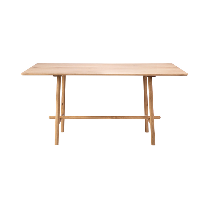 OAK PROFILE HIGH MEETING TABLE