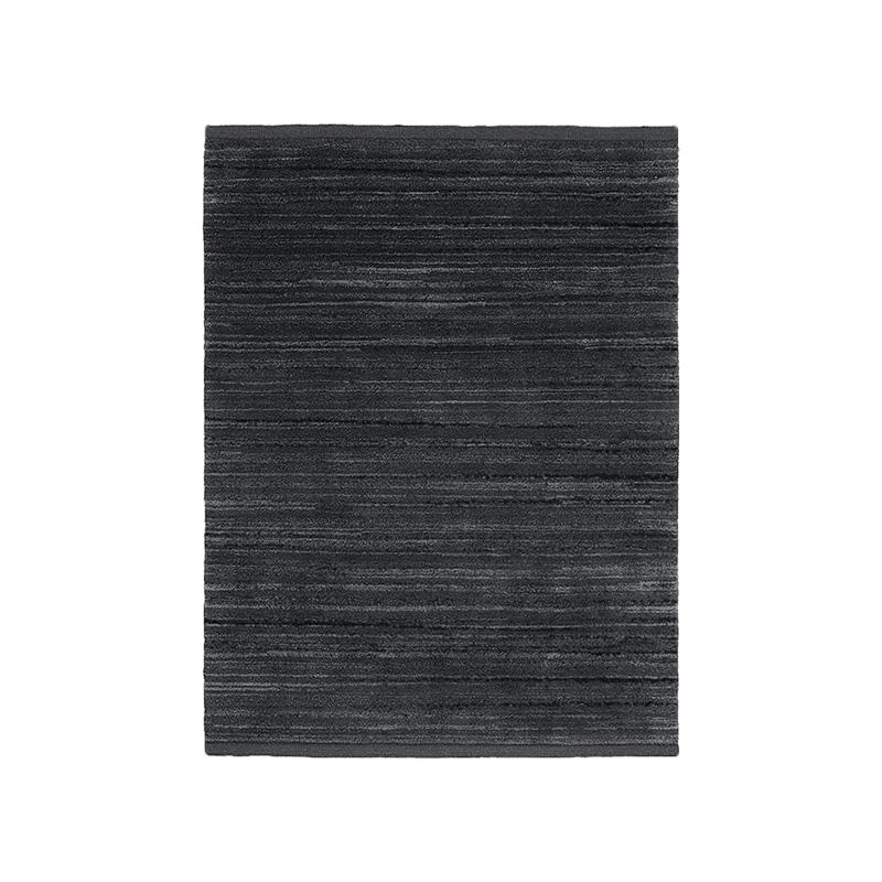 KVADRAT CASCADE RUG 180X240 BLACK