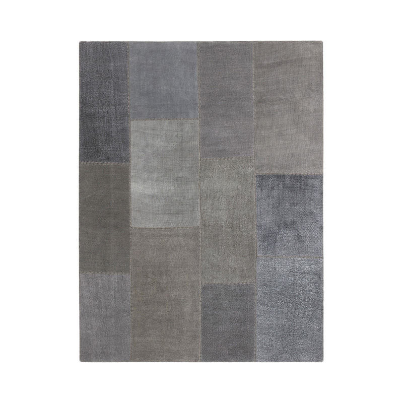 KVADRAT HEMP RUG 200X300 DARK GREY