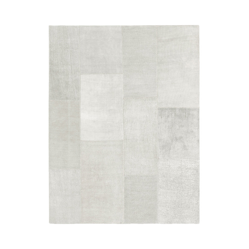 KVADRAT HEMP RUG 200X300 LIGHT GREY