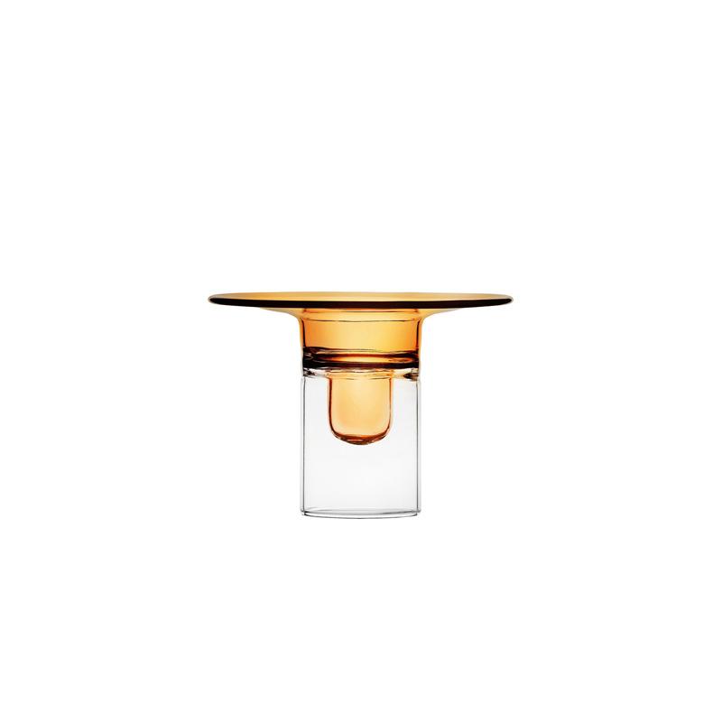 ICHENDORF FIREFLY CANDLEHOLDER AMBER 8,5cm