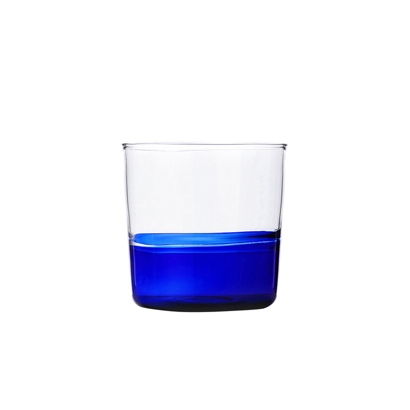 ICHENDORF LIGHT COLORE WATER BLUE/CLEAR TUMBLER