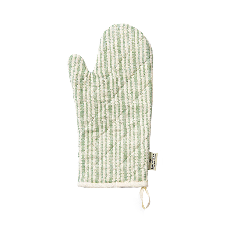PIPPY SCALLOP SINGLE OVEN GLOVE OLIVE