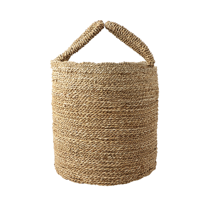SEAGRASS BASKET NATURAL LARGE