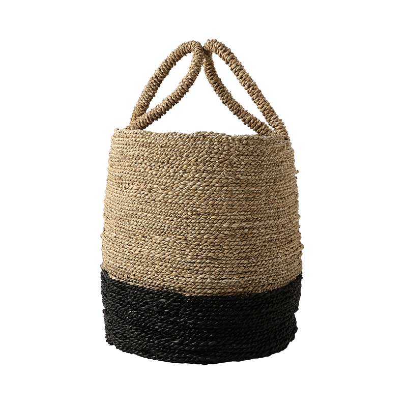 COLOR BLOCK SEAGRASS BLACK LARGE
